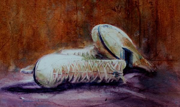 Iceboots, Watercolour By David Poxon