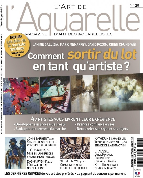 Art de' Aquarelle Magazine Feature