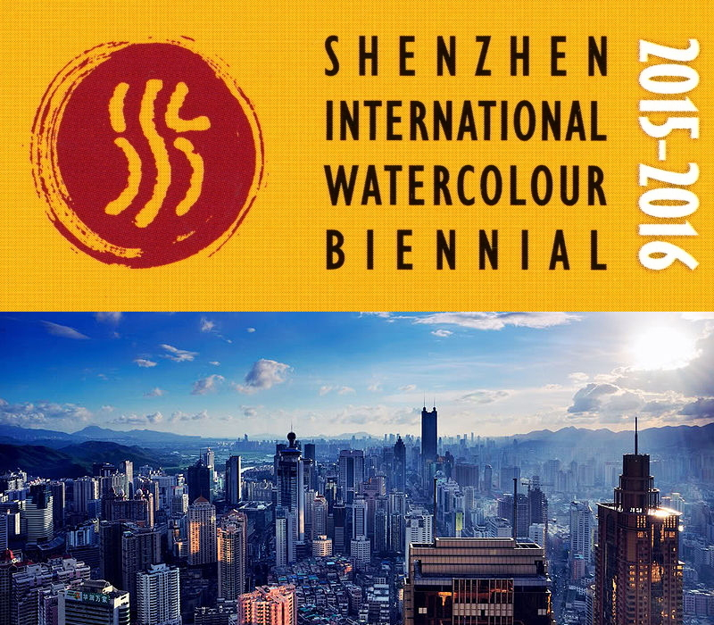 Shenzhen International Watercolour Biennial Poster