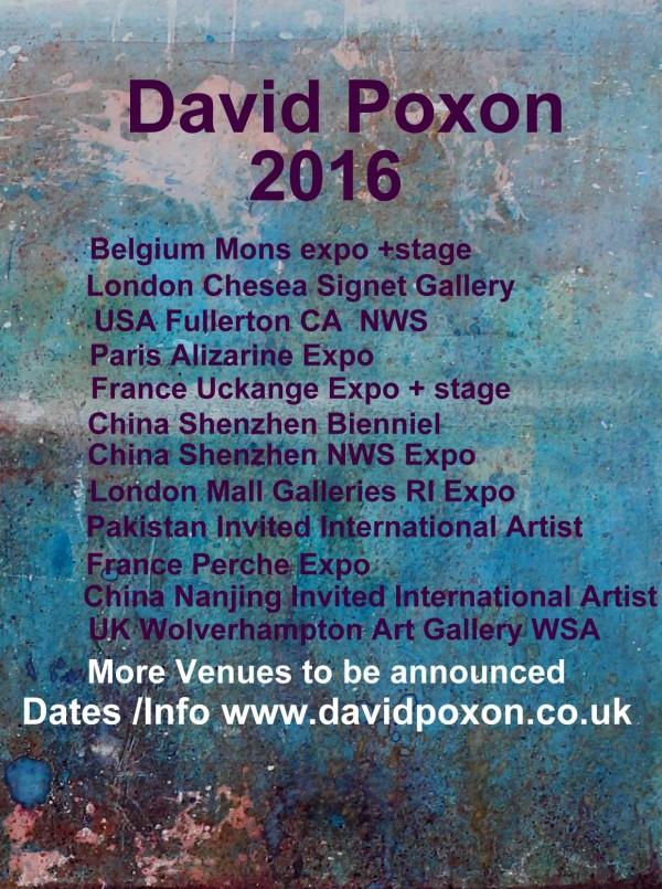 David Poxon 2016 poster