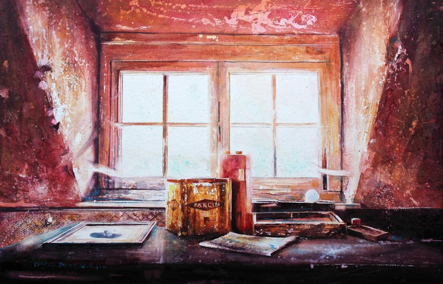 When We Were Young, Watercolour By David Poxon