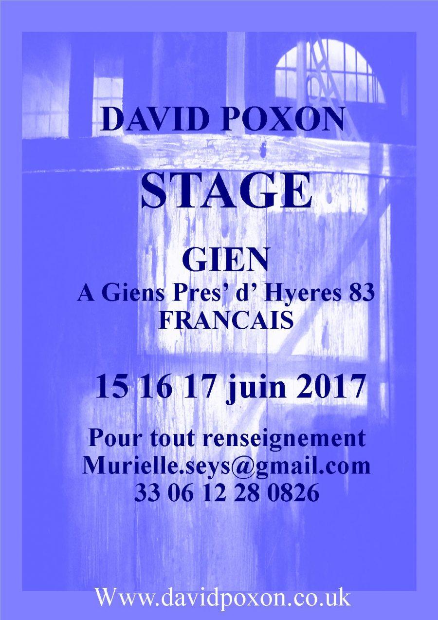 Gien France Workshop Poster