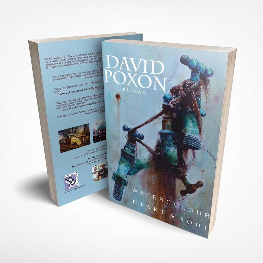 David Poxon Watercolour Heart and Soul