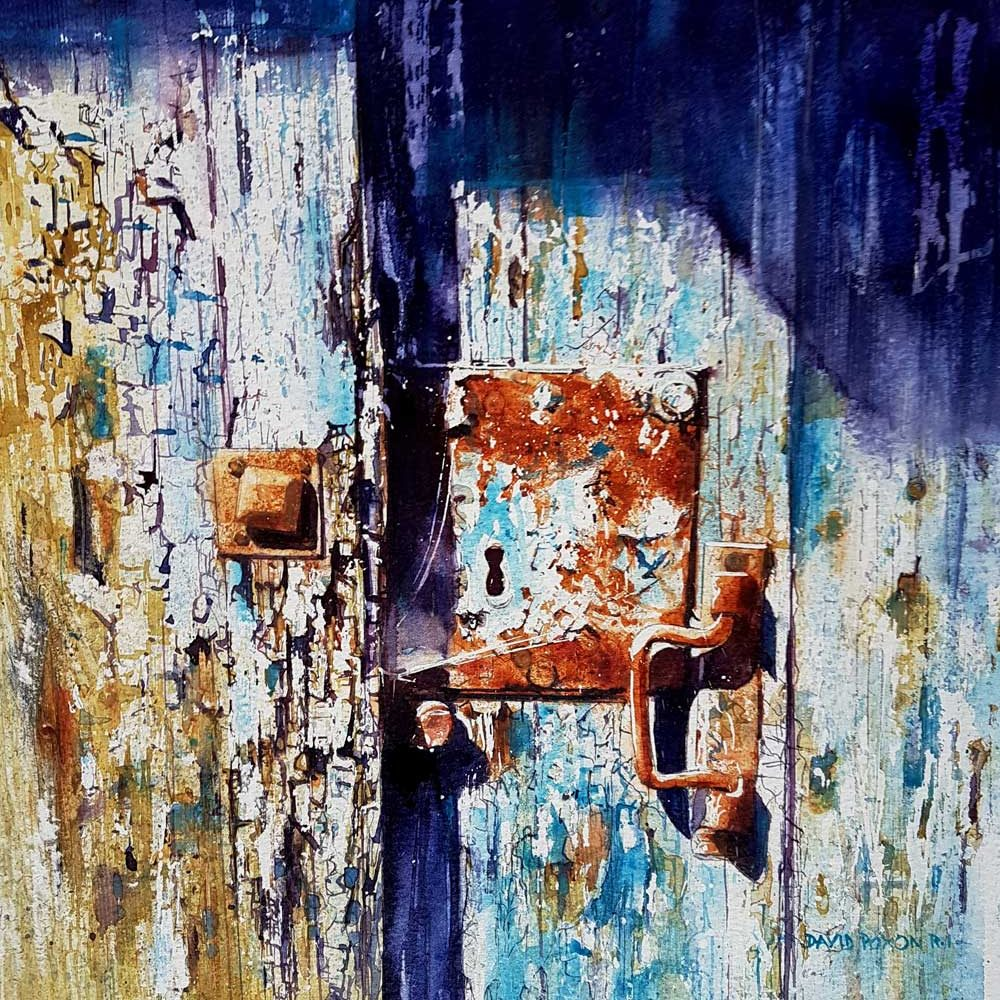 Places only we know, Watercolour By David Poxon