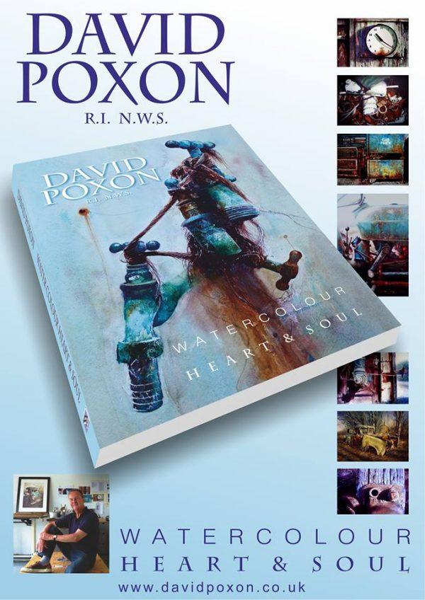 David Poxon Watercolour Book, Heart and Soul