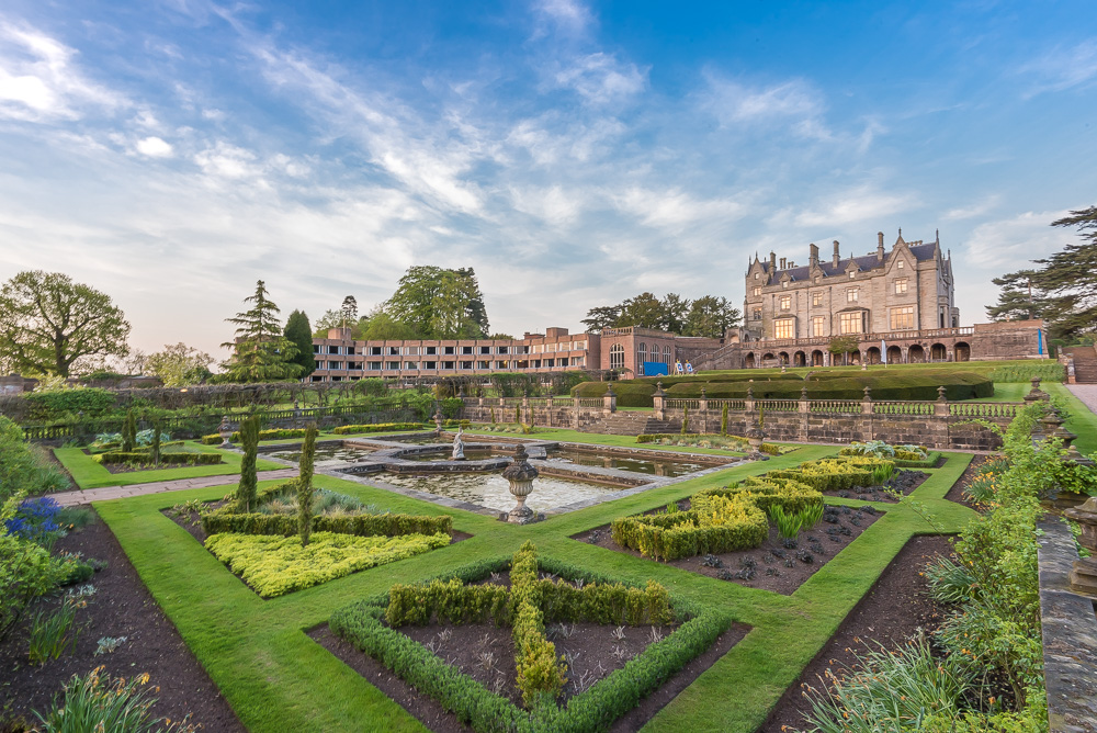 #iwm2020 International Watercolour Masters exhibition at Lilleshall Hall England in May 2020. This image shows Lilleshall Hall, Shropshire England, the venue for the incredible International Watercolour Masters Exhibittion in 2020.