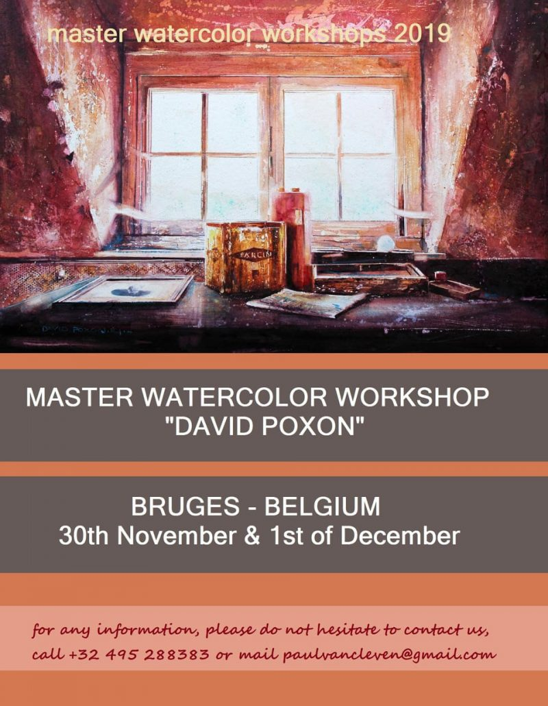 BRUGES MASTER WORKSHOP, Poster