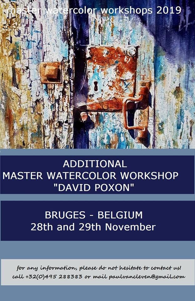 Brugge Extra Workshop Dates Poster