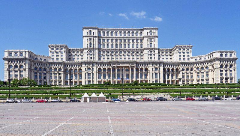 Romania Parliament Palace Exhibition