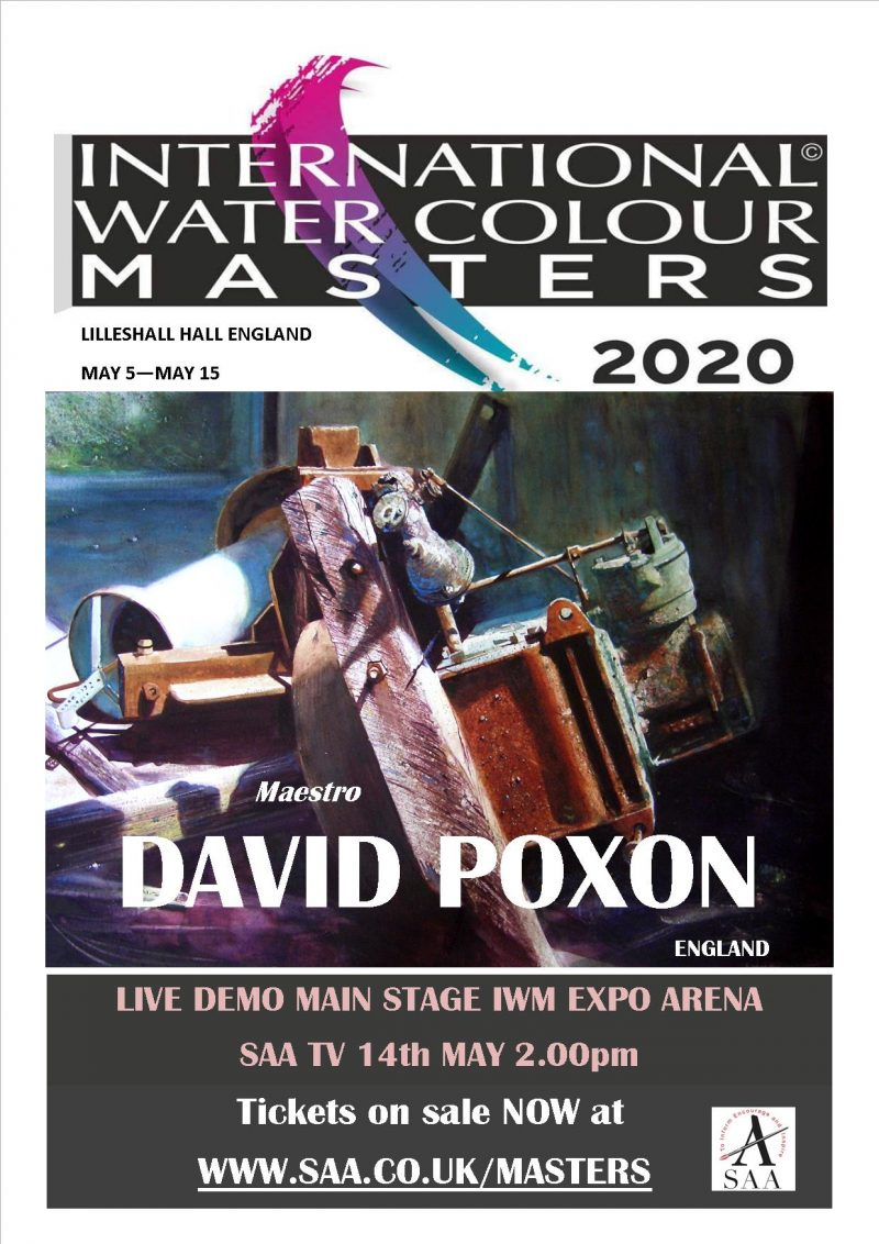 International Watercolour Masters 2020 Poster