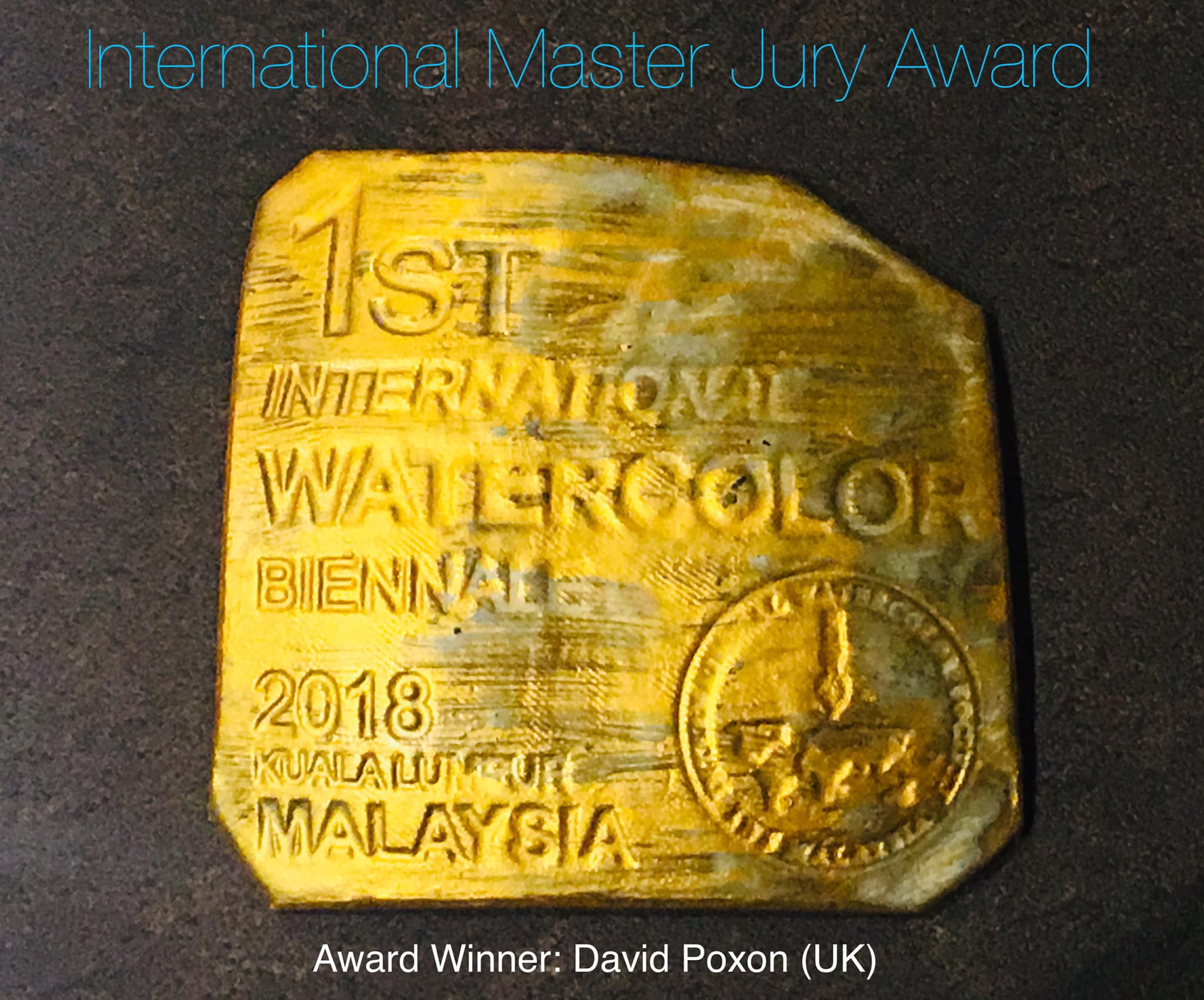 1st International Watercolour Award, Malaysia