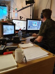 IWM2020 filming with TV Produce Gary Templeman at SAA TV studios with David Poxon and Janine Gallizia. Liu Yi, Mcewen, Angus, Salminen, Alvaro, Castagnet, Thomas Schaller, Fabio Cembranelle, Iain Stewart, Julia Barminova, Eudes, Correia, Rance Jones, Keiko Tanabe, are all starring at IWM2020, Masters of watercolor exhibition. Lilleshall Hall UK will host the IWM2020 watercolour Masters expo in May 2020. Jansen Chow at iwm2020 England.