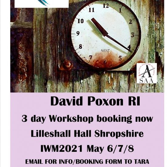 david poxon workshop at iwm2021