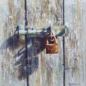 Locked and Loaded by David Poxon RI Fne art print of the pure watercolour painting original.