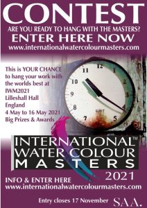 iwm2021 International watercolour masters, watercolor masters, watercolour alliance, masters, best watercolours love_watercolour